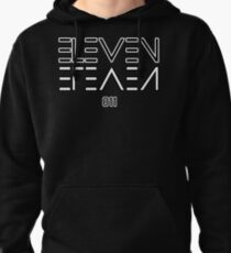 Eleven Upside Down Pullover Hoodie
