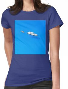 Boats in Saint Tropez Bay, Southern France Womens Fitted T-Shirt