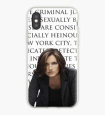 Benson und SVU Intro iPhone-Hülle & Cover