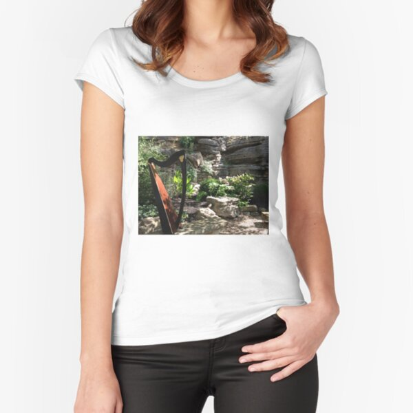 Harp in the Spring Fitted Scoop T-Shirt