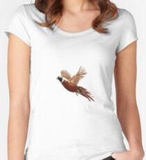 Pheasant  Women's Fitted Scoop T-Shirt