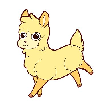 Banana Llama by LittleMissBoxie