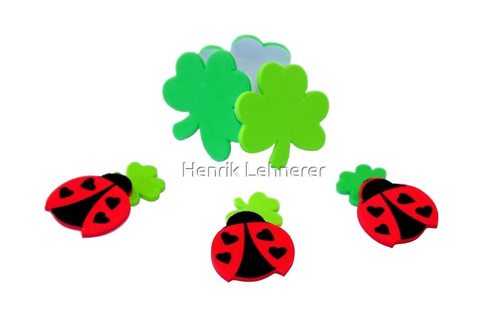 lucky Ladybugs by Henrik Lehnerer