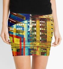 City Hall Thru Thompson's Eyes Mini Skirt