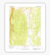USGS TOPO Map Arizona AZ Prospect Point 313003 1967 24000 Sticker