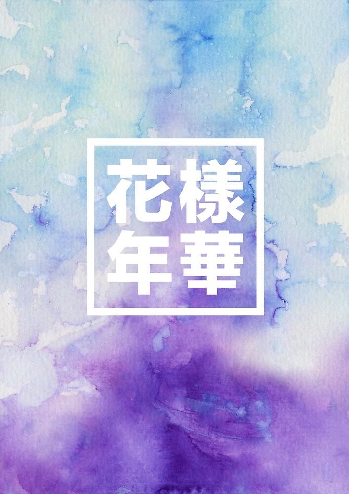BTS-Aquarell von Charlotte Frye