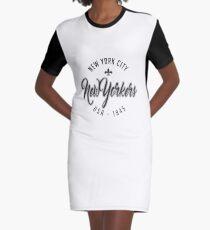 New Yorker Graphic T-Shirt Dress