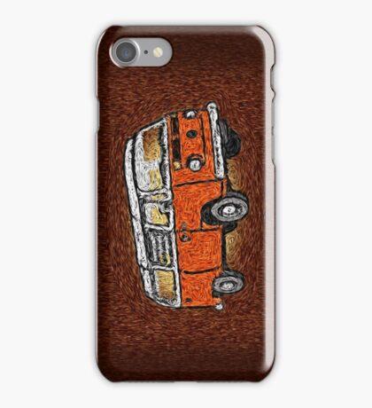 Camper Van Go Sunset iPhone Case/Skin