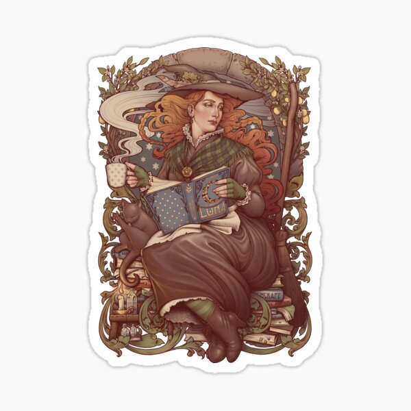 NOUVEAU FOLK WITCH Sticker