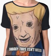 shaggy this isnt weed Women's Chiffon Top
