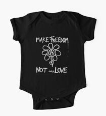 Make freedom - Anarchy Flower Kids Clothes