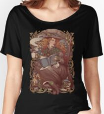 NOUVEAU FOLK WITCH Relaxed Fit T-Shirt
