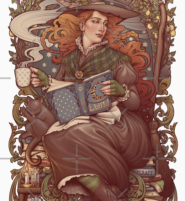 NOUVEAU FOLK WITCH by Medusa Dollmaker