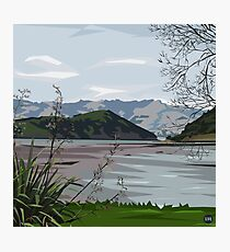 Barry's Bay, NZ by Ira Mitchell-Kirk Photographic Print