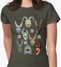 Tiki Crew Womens Fitted T-Shirt
