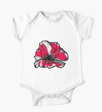 Ruby red poppy Kids Clothes