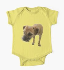 Young female border terrier One Piece - Short Sleeve