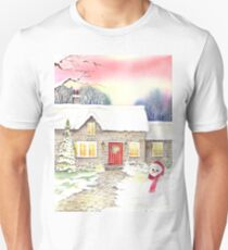 Snowy Cottage T-Shirt