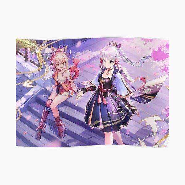 Ayaka & Yoimiya - Genshin Impact Poster