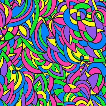 Colorful pattern. by Myotis