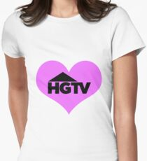 I love HGTV Women's Fitted T-Shirt