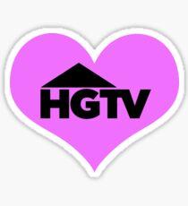I love HGTV Sticker