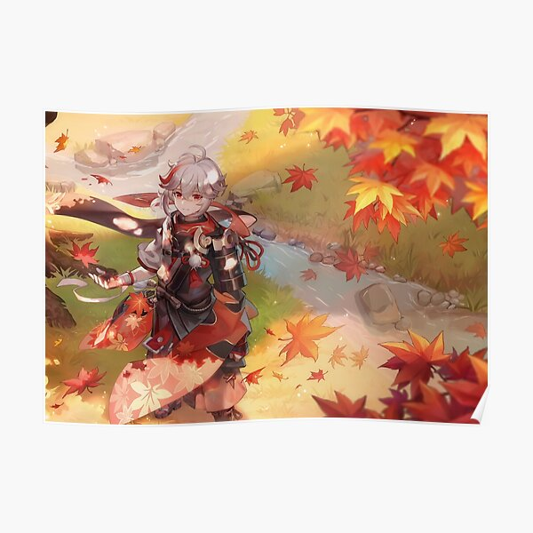 Kazuha - Genshin Impact Poster