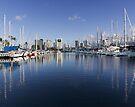 Ala Wai Harbor by Alex Preiss