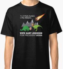 Vote Gary Johnson for President 2016 Classic T-Shirt