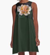 Lone Peach Rose A-Line Dress