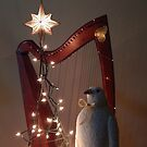 Harp & Bird at Christmas by Beth Stockdell