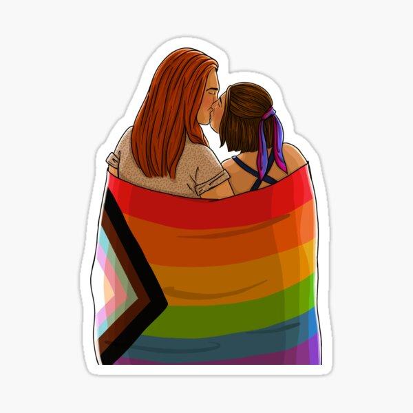 Wayhaught Pride  Sticker