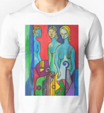 Three Muses Unisex T-Shirt