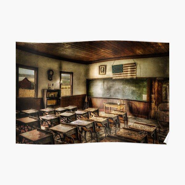 One Room School Poster