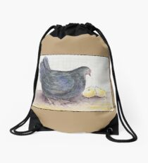 Cluck Cluck Drawstring Bag