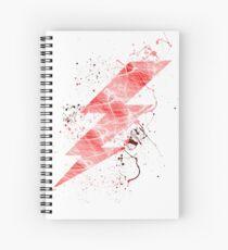 Cuaderno de espiral Relámpago de destello