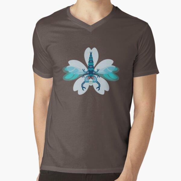 Dragonfly V-Neck T-Shirt