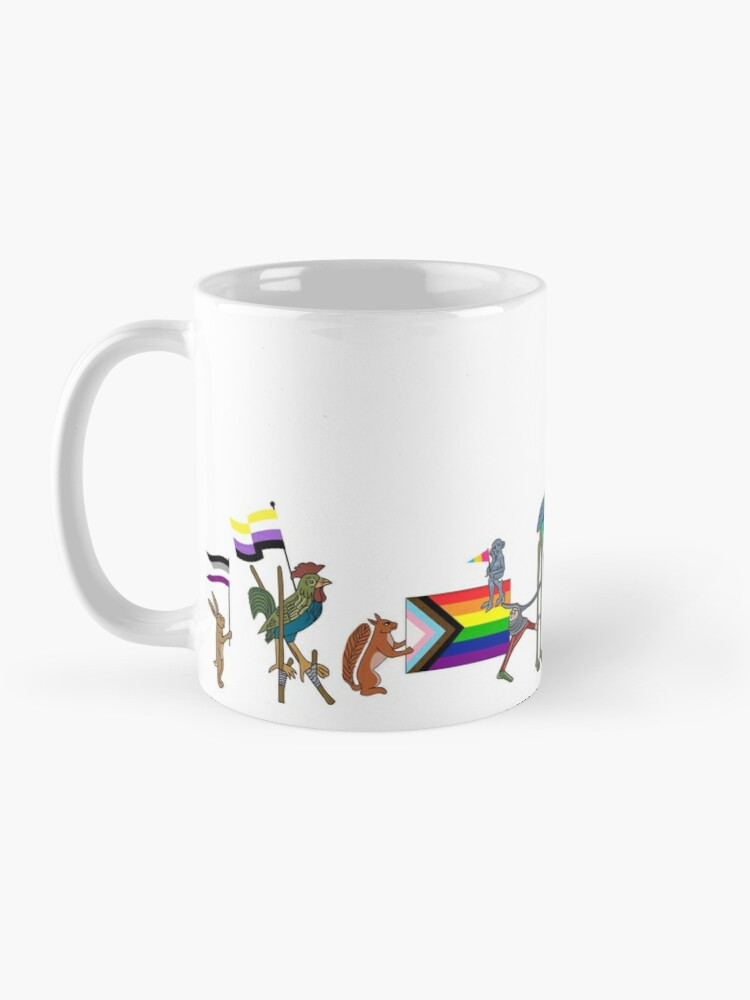 Alternate view of WesterosCraft LGBTQIA+ Pride Parade Mug
