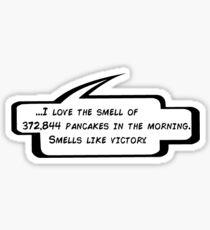 Smells Like Victory Sticker