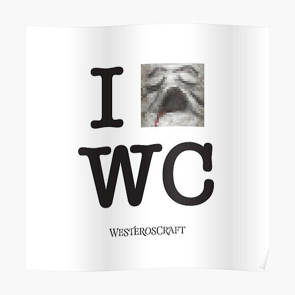 I *o-face* WesterosCraft Poster