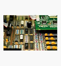 Motherboard Photographic Print