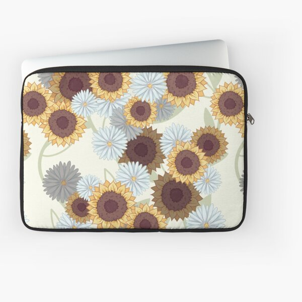 Sunflowers and Daisies Laptop Sleeve