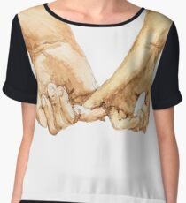 Pinky Swear I Women's Chiffon Top