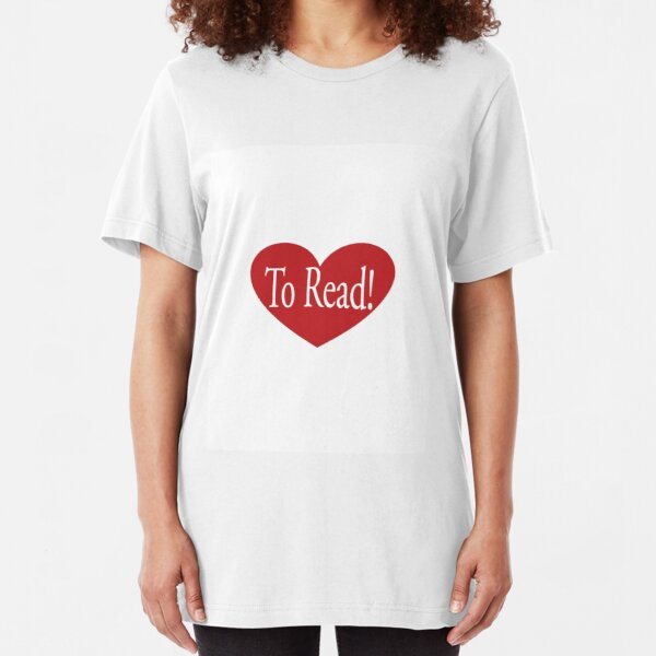 Love to Read Slim Fit T-Shirt