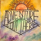 watercolour adventure is out there by cocodesigns