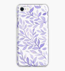 Lavender herbs iPhone Case/Skin