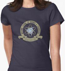 Midtown Schule für Wissenschaft und Technologie Tailliertes T-Shirt für Frauen