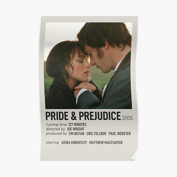 Affiche polaroïd Orgueil et Préjugés Poster
