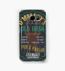 O'Malley's Irish Pub Samsung Galaxy Case/Skin