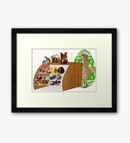 At the Store During Easter (904 Views) Framed Print